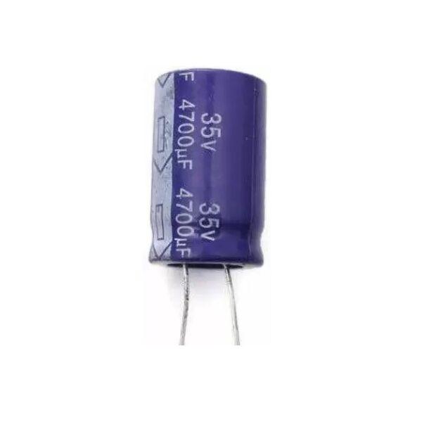 4700uF 35V Electrolytic Capacitor - Samwha-Sharvielectronics