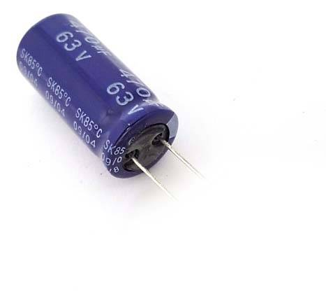 470uF/63V Electrolytic Capacitor sharvielectronics.com