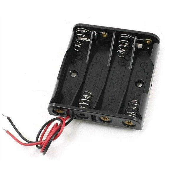 Battery Holder-4xAAA Sharvielectronics.com