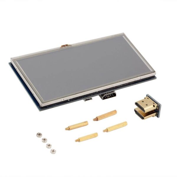5 inch LCD Touch Display with HDMI