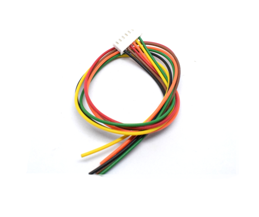 6 Pin Polarized Header Wire with Relimate Connector Sharvielectronics
