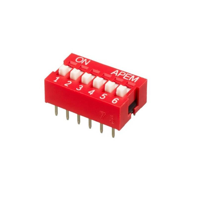 Sharvielectronics: Best Online Electronic Products Bangalore | 6 Way DIP Switch | Electronic store in bangalore