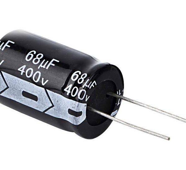 68uF/400V Electrolytic Capacitor sharvielectronics.com