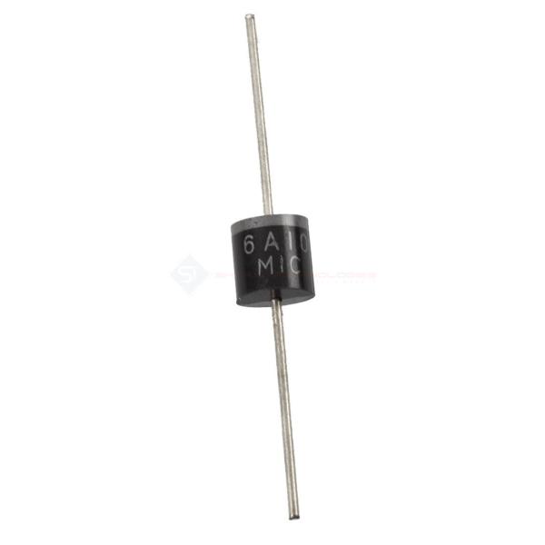 6A10 Diode-1000V/6A Silicon Rectifier