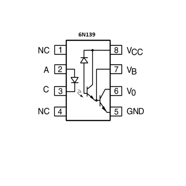 6N139-High Speed Optocoupler