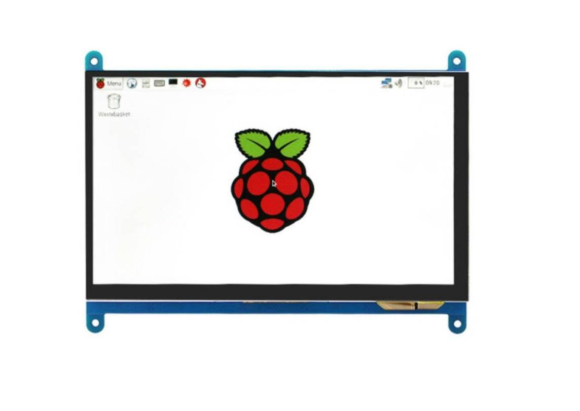 Raspberry Pi 7 inch LCD Capacitive Touch Screen 800 x 480 Display with HDMI