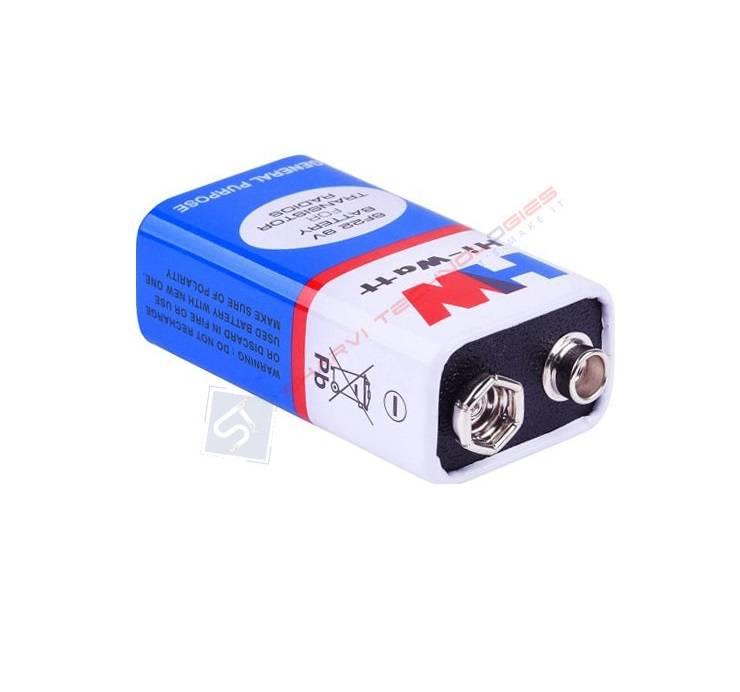 Zinc Chloride Battery-9V sharvielectronics.com