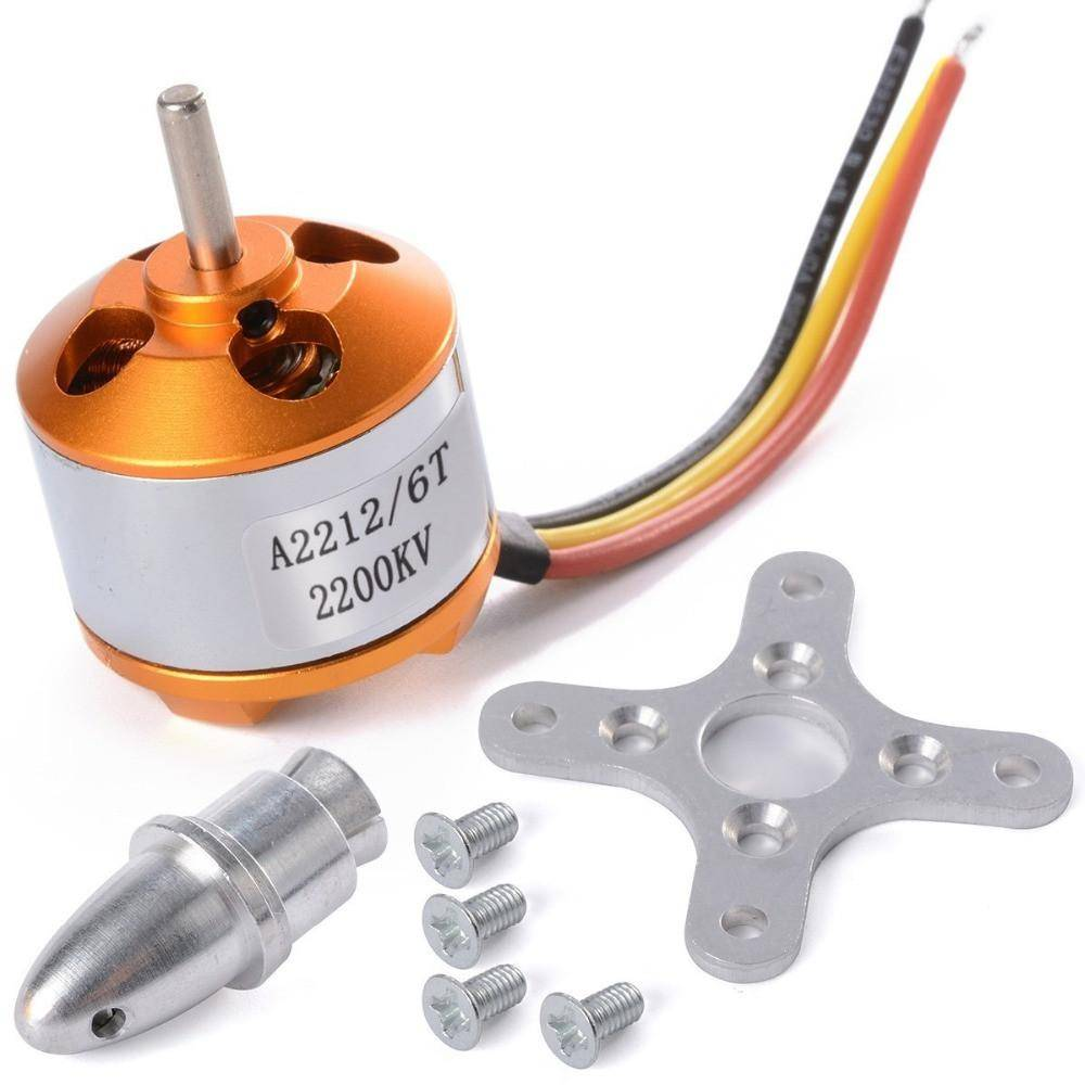 Sharvielectronics: Best Online Electronic Products Bangalore | A2212 2200KV 6T BRUSHLESS DC MOTOR | Electronic store in bangalore