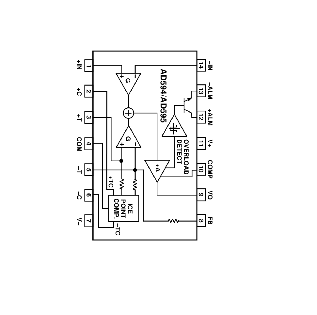 Sharvielectronics: Best Online Electronic Products Bangalore | AD595 IC Thermocouple Amplifier IC | Electronic store in bangalore