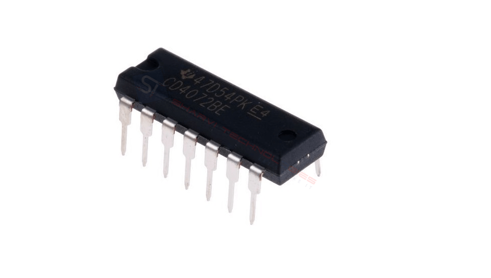 Sharvielectronics: Best Online Electronic Products Bangalore | CD4072 IC Dual 4 Input OR Gate IC | Electronic store in bangalore
