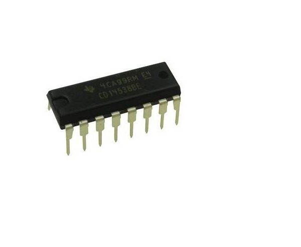 CD4538 IC Dual Precision Monostable Multivibrator sharvielectronics.com