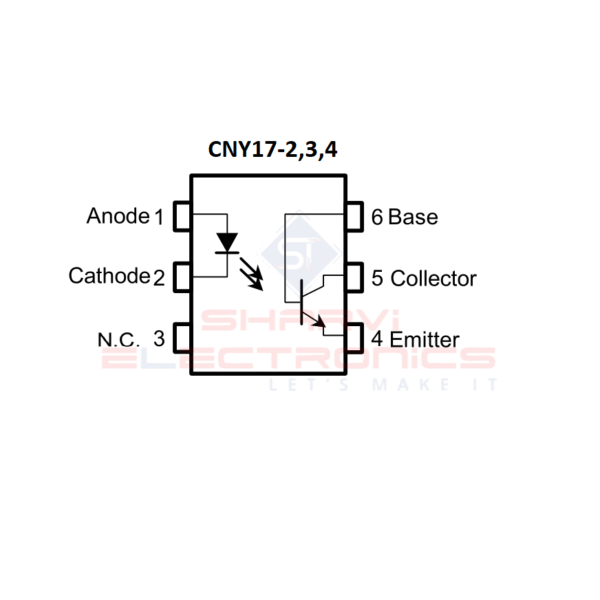 CNY17-4 IC-Phototransistor Optocoupler IC