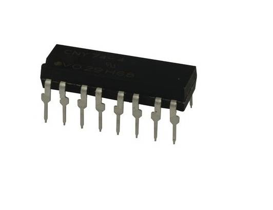 CNY74-4 IC - 4-Channel Optocoupler with Phototransistor IC sharvielectronics.com