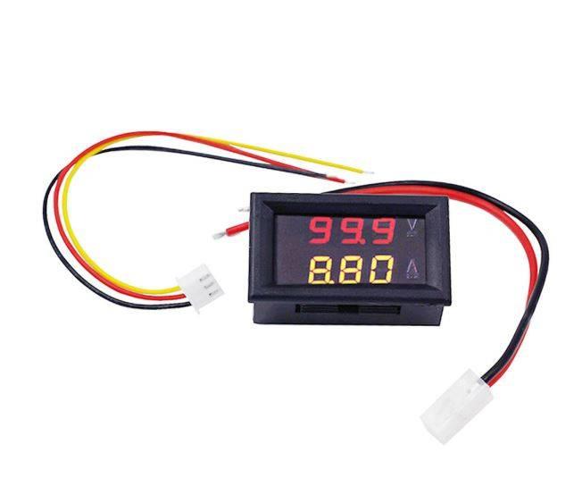 Digital Voltmeter 0-100V and Ammeter Dual Led Voltage Current Measurement Module