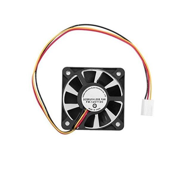 DC Cooling Fan 2.5 inch 12V 60mm Sharvielectronics