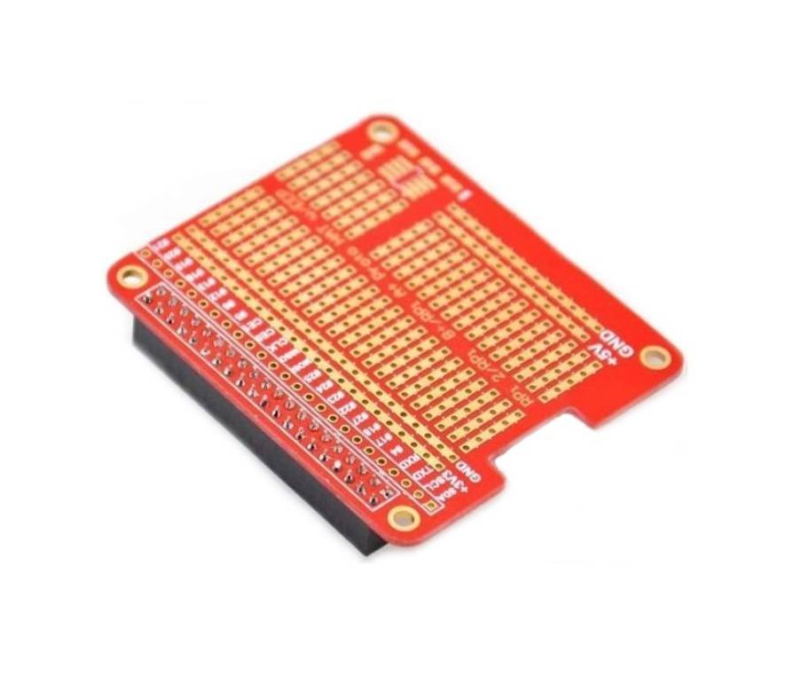 Sharvielectronics: Best Online Electronic Products Bangalore | DIY Proto HAT Shield for Raspberry Pi 3 | Electronic store in bangalore