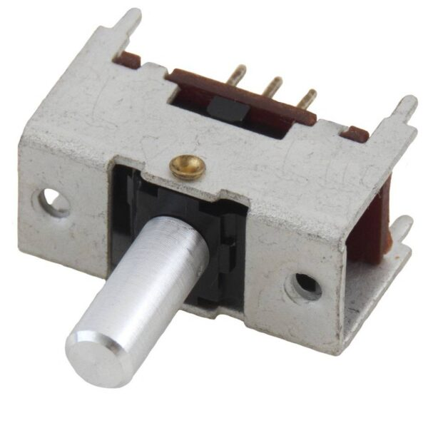DPDT Switch-Spring Action-Center Off Rocker Toggle-PCB Mount