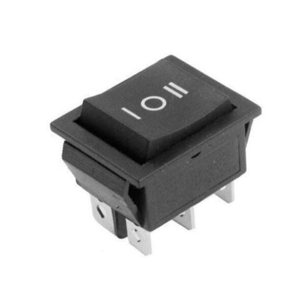 DPDT Center Off Rocker Momentary Switch-Spring Action