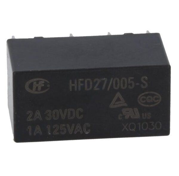 DPDT Relay - 5V2A - PCB Mount sharvielectronics.com