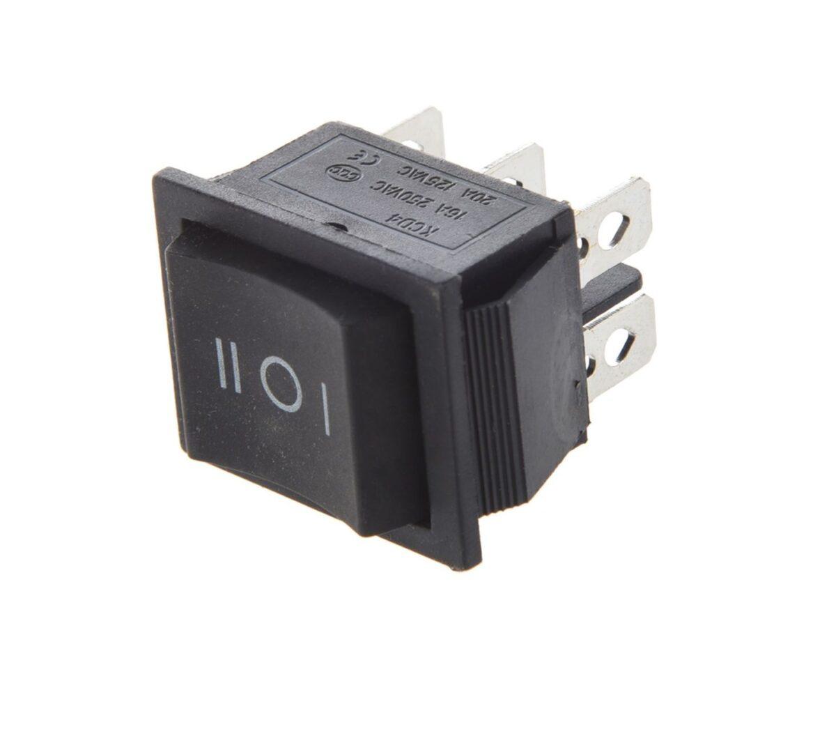 DPDT Rocker Switch Center Off sharvielectronics.com