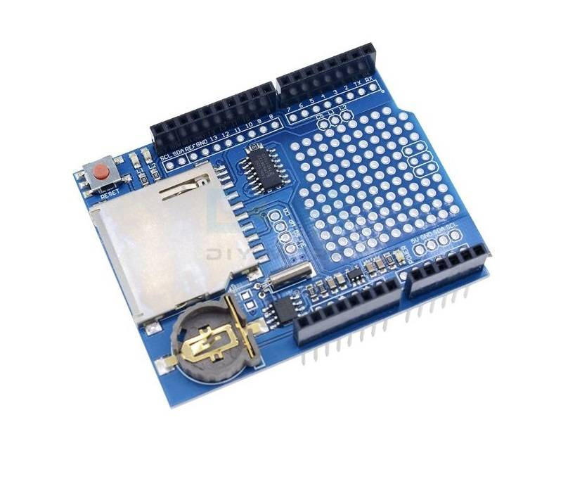 Sharvielectronics: Best Online Electronic Products Bangalore | Data Logger Module Logging Recorder Shield V1.0 For Arduino UNO 1 | Electronic store in bangalore
