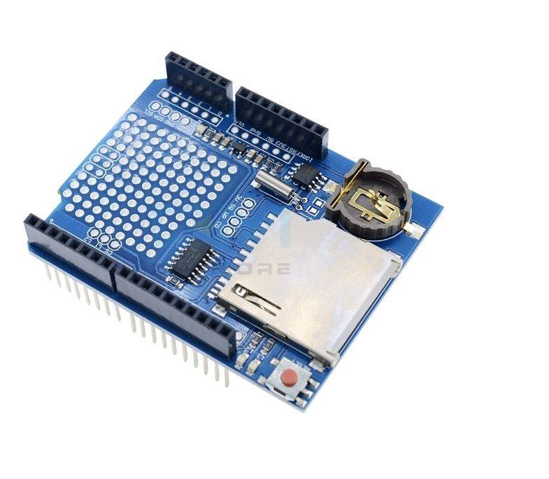 Sharvielectronics: Best Online Electronic Products Bangalore | Data Logger Module Logging Recorder Shield V1.0 For Arduino UNO 3 | Electronic store in bangalore