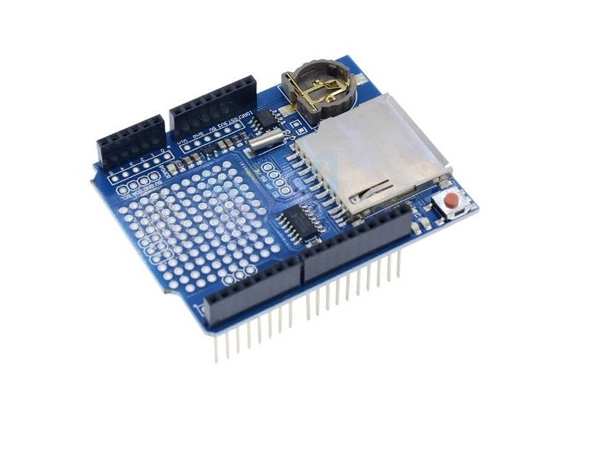 Sharvielectronics: Best Online Electronic Products Bangalore | Data Logger Module Logging Recorder Shield V1.0 For Arduino UNO 5 | Electronic store in bangalore
