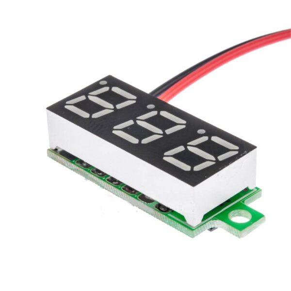 Digital DC Voltmeter Mini 0.36 inch-2 Wire Module
