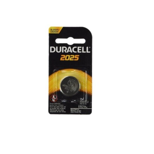 DL2025-CR2025-3V/150mAh-Lithium Coin Cell-Duracell