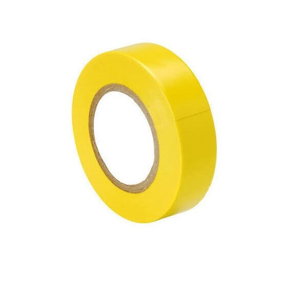Electrical PVC Insulating Tape – Yellow Color Sharvielectronics