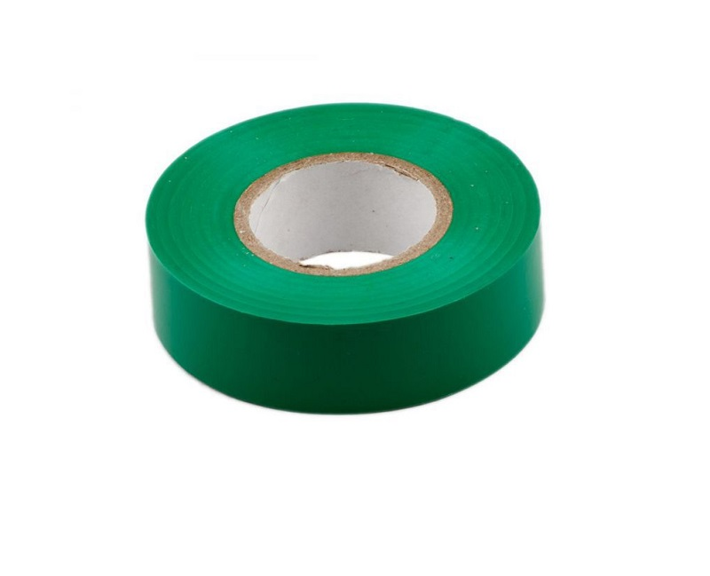 Electrical PVC Insulating Tape-Green Color Sharvielectronics
