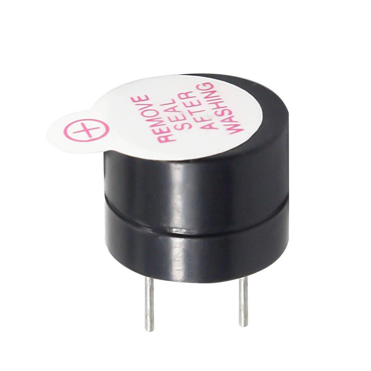 Electromagnetic Buzzer PCB Mount 5V sharvielectronics.com