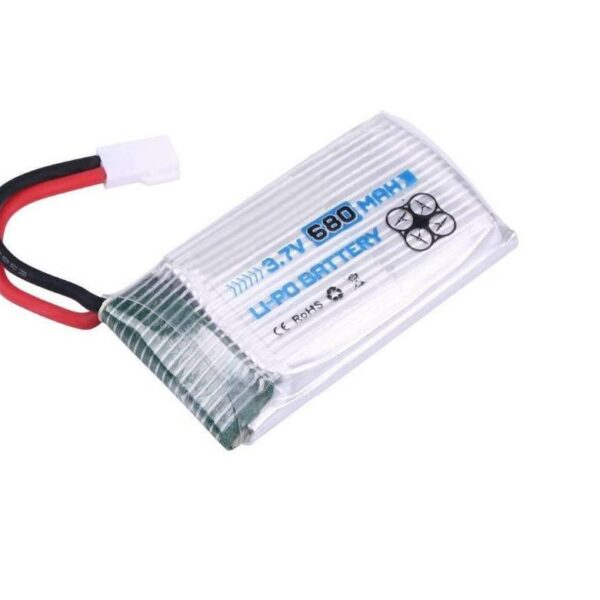 Lipo Rechargeable Battery-3.7V/680mAH-For RC Drone-Engpow