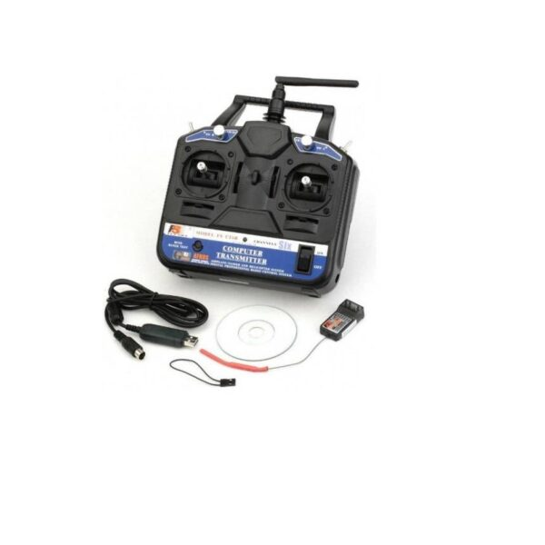 Fly Sky FS-CT6B Transmitter and Receiver 6-Channel 2.4 Ghz