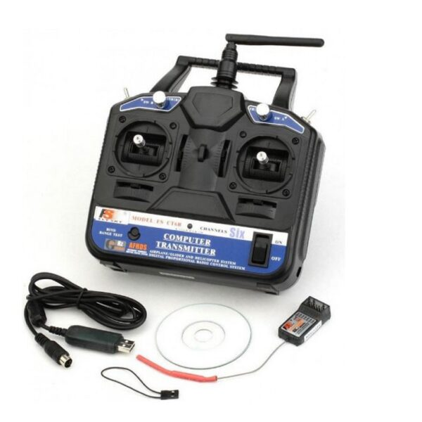 Fly Sky FS-CT6B Transmitter and Receiver 6-Channel 2.4 GHz Sharvielectronics