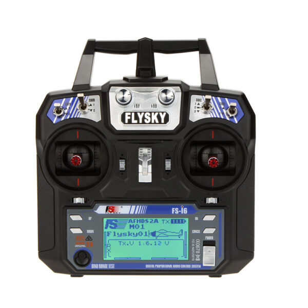 Fly Sky FS-i6 Transmitter and FS-iA6 Receiver 6-Channel 2.4 Ghz sharvielectronics.com