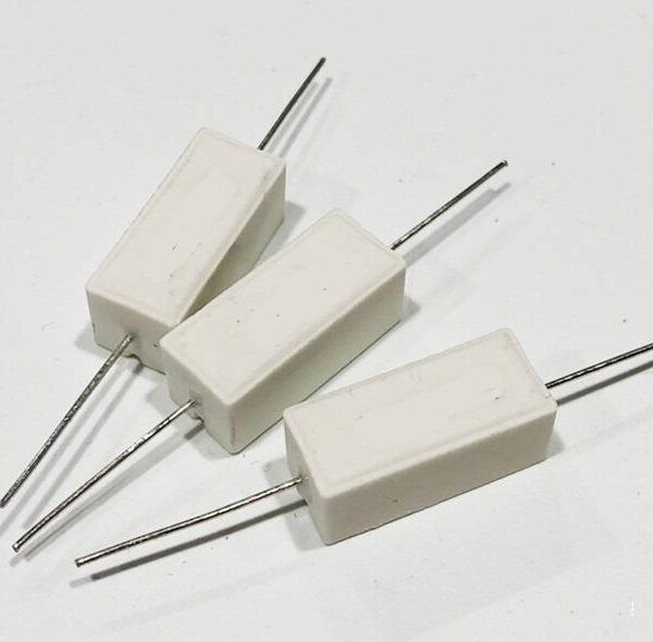 0.1 ohm 5W Fusible Cement Resistor