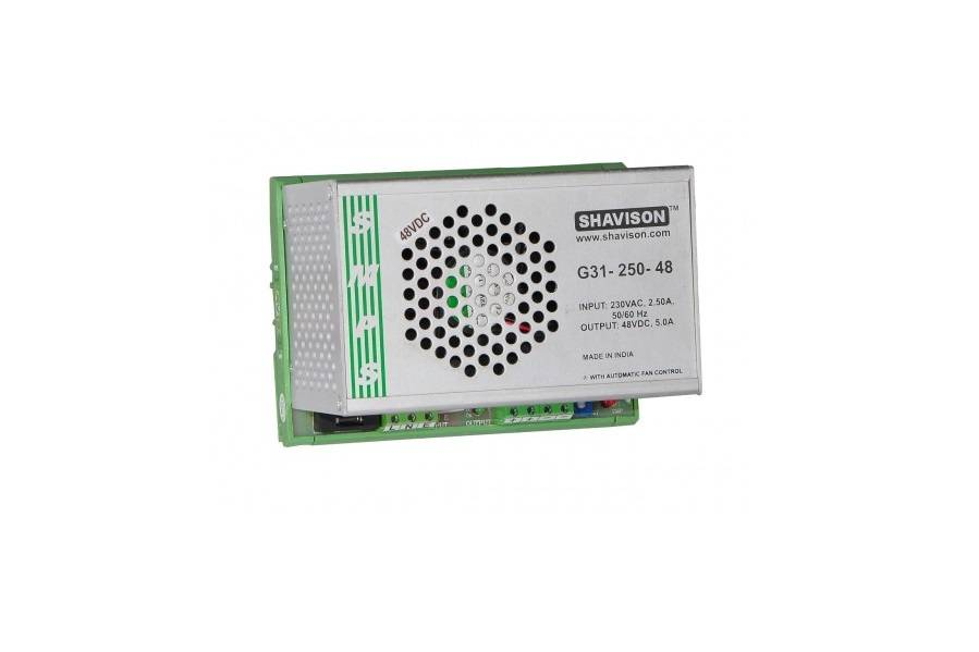 Sharvielectronics: Best Online Electronic Products Bangalore | G31 250 48 Shavison SMPS – 48V 5A – 240W DIN Rail Mountable Metal Power Supply | Electronic store in bangalore