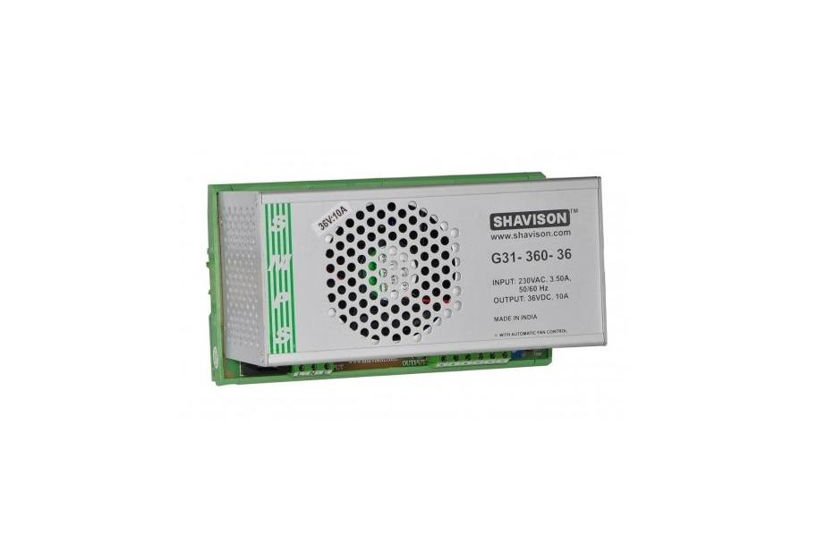 Sharvielectronics: Best Online Electronic Products Bangalore | G31 360 36 Shavison SMPS – 36V 10A – 360W DIN Rail Mountable Metal Power Supply | Electronic store in bangalore