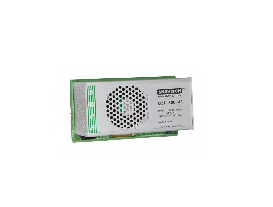 Sharvielectronics: Best Online Electronic Products Bangalore   G31 500 48 Shavison SMPS – 48V 10A – 480W DIN Rail Mountable Metal Power Supply   Electronic store in bangalore