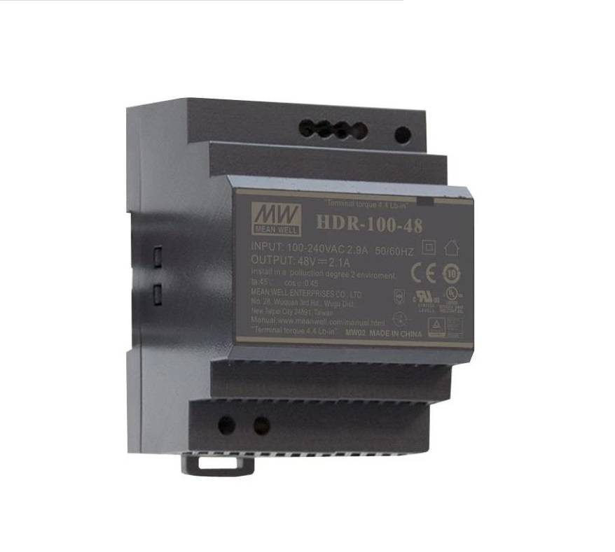 Sharvielectronics: Best Online Electronic Products Bangalore | HDR 100 48 Mean well SMPS 48V 1.92A 92.2W Din Rail Metal Power Supply | Electronic store in bangalore