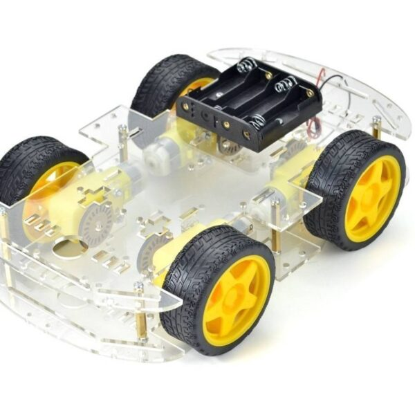 4 Wheel Robot Chassis Kit for smart car