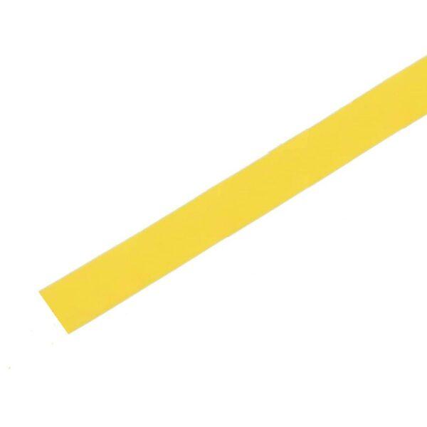 Heat Shrink Tube - Yellow - Diameter 4 mm - Length 1 Meter