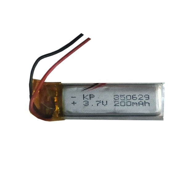 Lipo Rechargeable Battery-3.7V/200mAH-KP-350629 Model