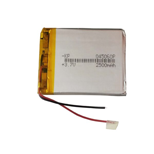 Lipo Rechargeable Battery-3.7V/2500mAH-KP-045060 Model