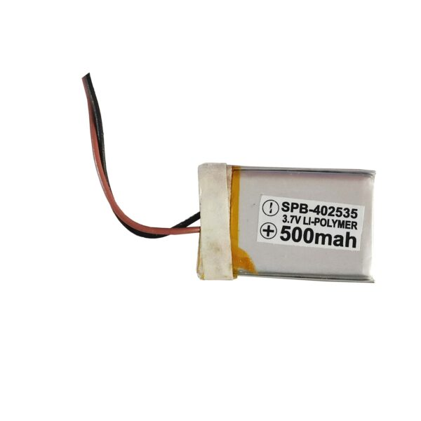 Lipo Rechargeable Battery-3.7V/500mAH-KP-402535 Model