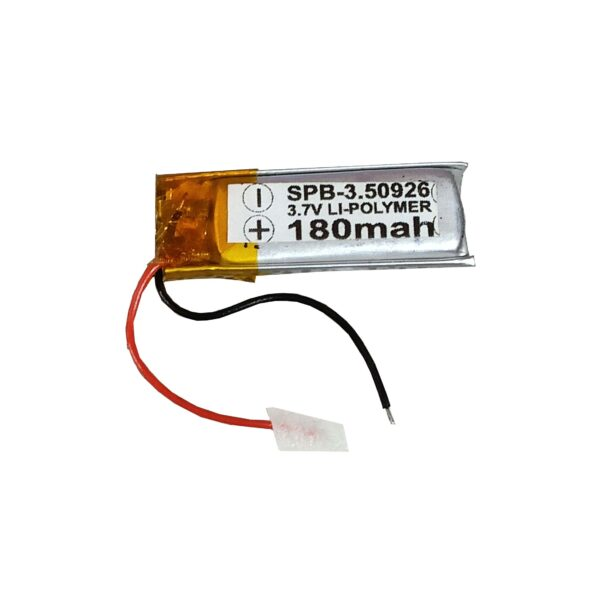 Lipo Rechargeable Battery-3.7V/180mAH-SPB-50926Model