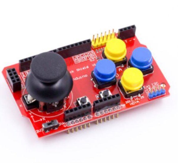 Sharvielectronics: Best Online Electronic Products Bangalore | JoyStick Shield Module Robotics Control for Arduino 1 | Electronic store in bangalore