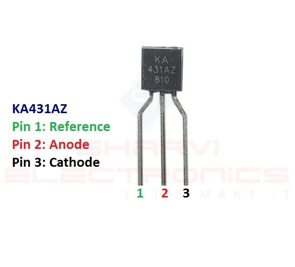 Sharvielectronics: Best Online Electronic Products Bangalore | KA431AZ Programmable Shunt Regulator | Electronic store in bangalore