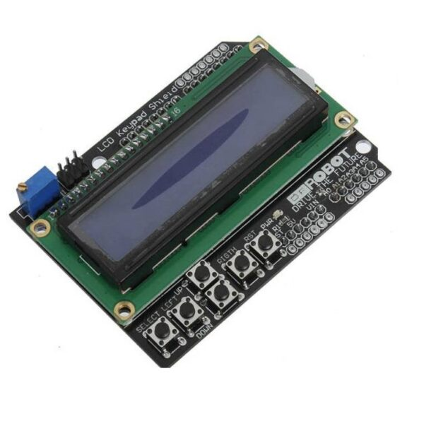 Keypad Shield Blue Backlight For Robot LCD 16x2 Board